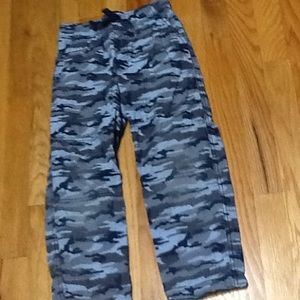 Boy's Lined Camo Pants, VGUC